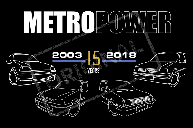 2018 metropower 15th anniversary design