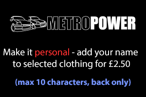 metropower clothing personalisation