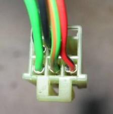 heated mirror switch wiring connector