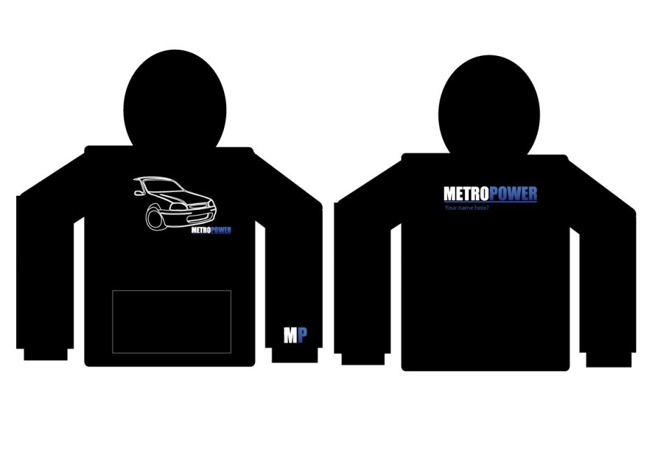MetroPower Hoodie Rover 100 edition