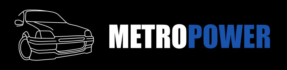 Metropower Sticker Mk3 Metro Edition