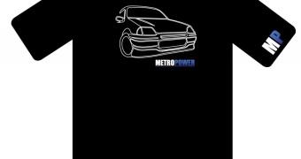 Metropower Shirt MK3 Metro edition