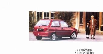 Rover 100 Accessories Brochure